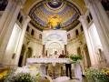 Matrimonio nella chiesa di Santa Maria Madre della Divina Grazia a Grottaferrata