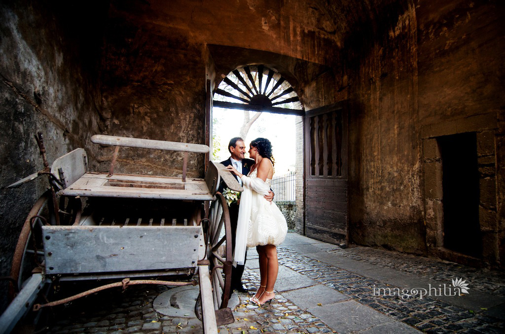 Matrimonio al Complesso Vignola Mattei a Roma / Ricevimento a Roma