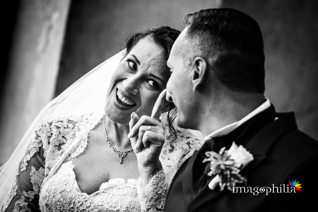 Ritratto della sposa che ammonisce lo sposo a Villa d'Este a Tivoli