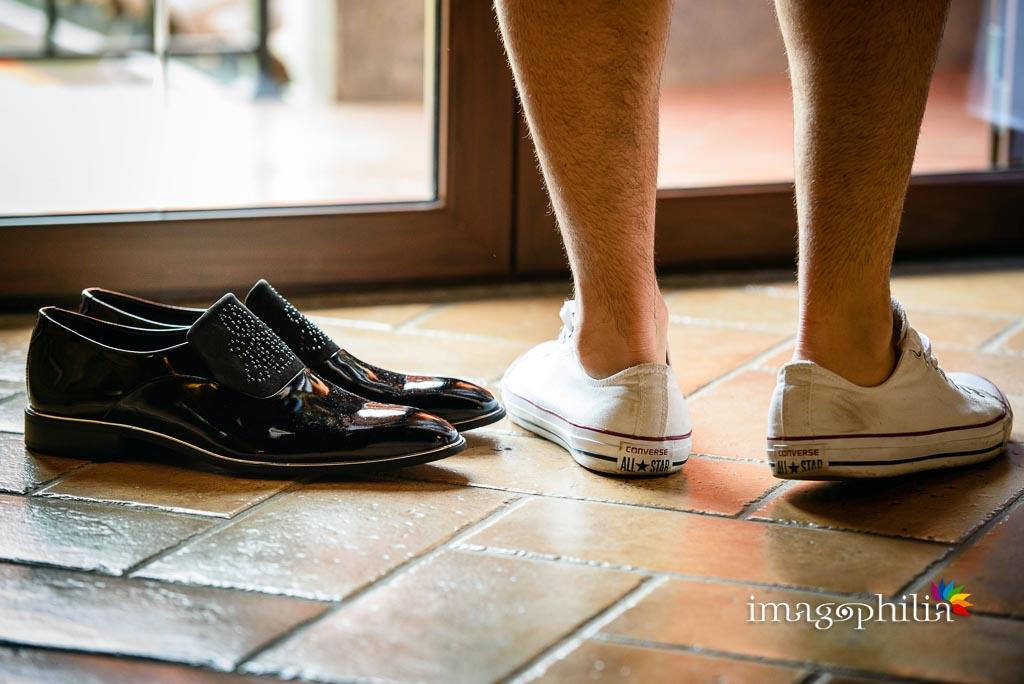 Tutte le scarpe dello sposo