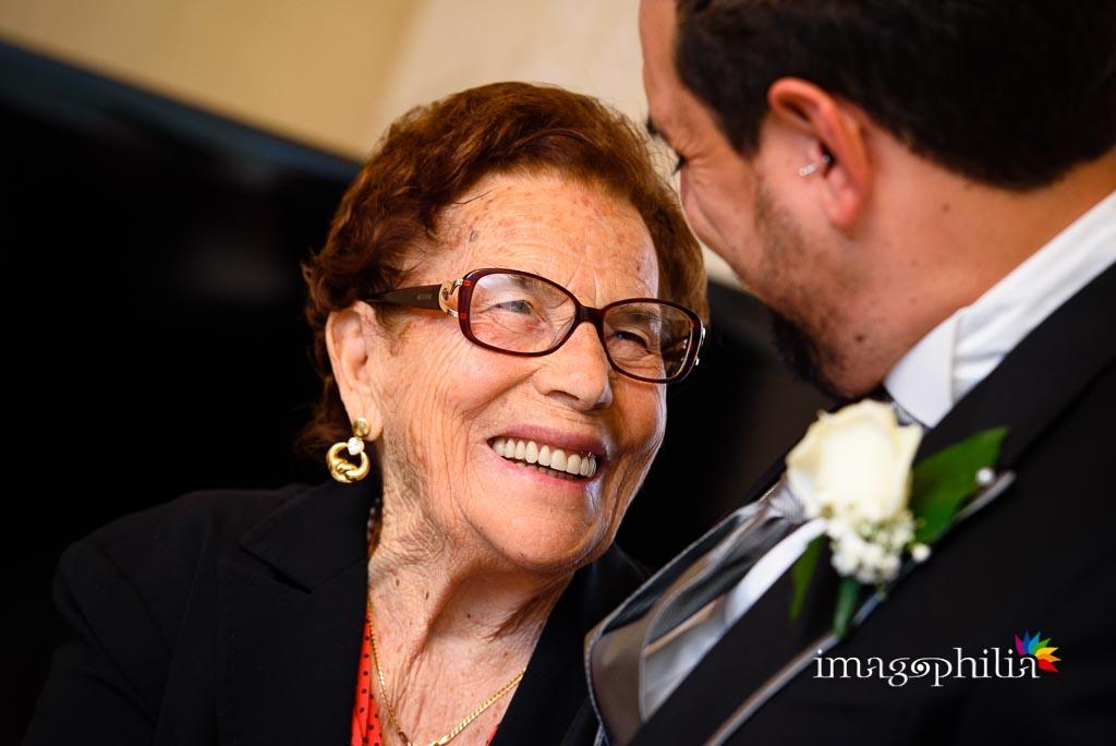 Ritratto della nonna con il nipote