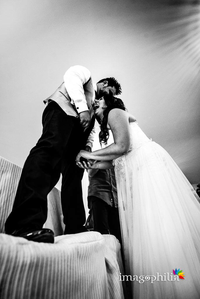 Risate durante il ricevimento di matrimonio a Villa Sesterzi, Fonte Nuova