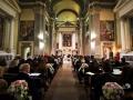 La Chiesa di San Silvestro a Montecompatri durante la celebrazione del matrimonio