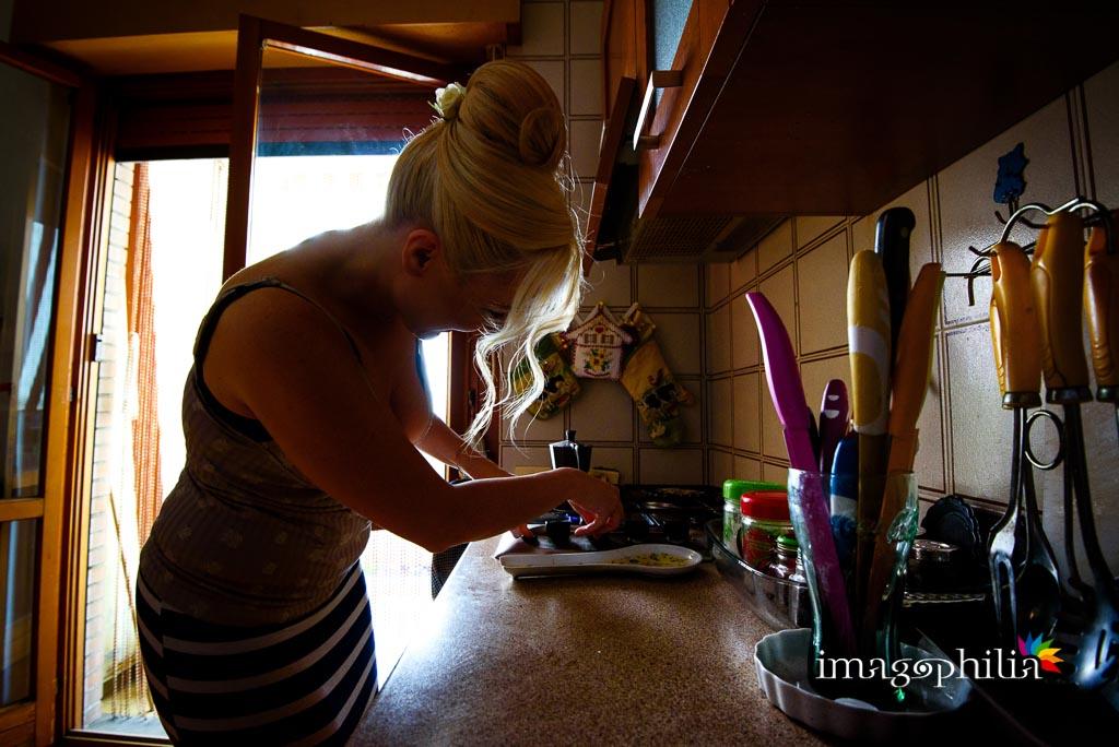 La sposa prepara il caffè…