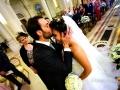 Arrivo della sposa nella Chiesa di Santa Maria Madre della Divina Grazia