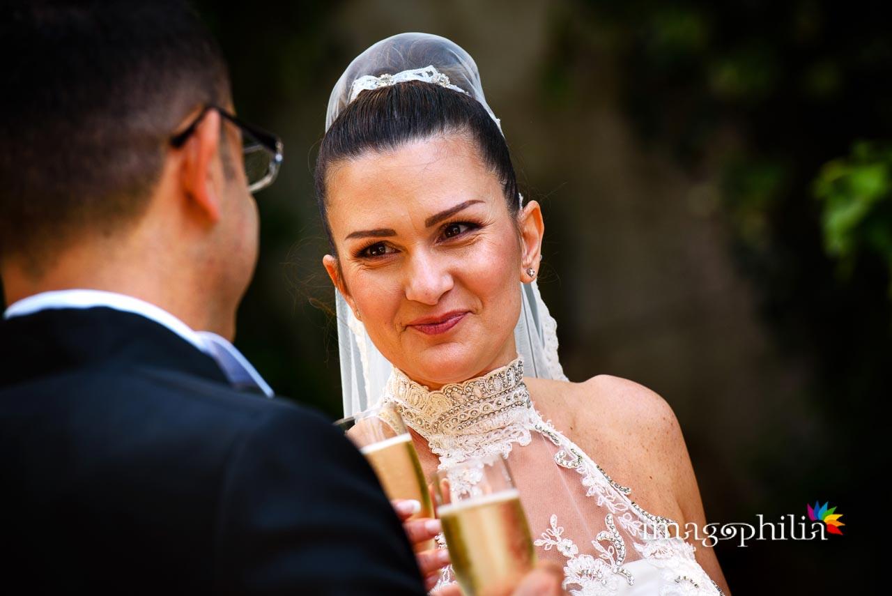 Brindisi agli sposi a Villa Pocci (Marino) / 1