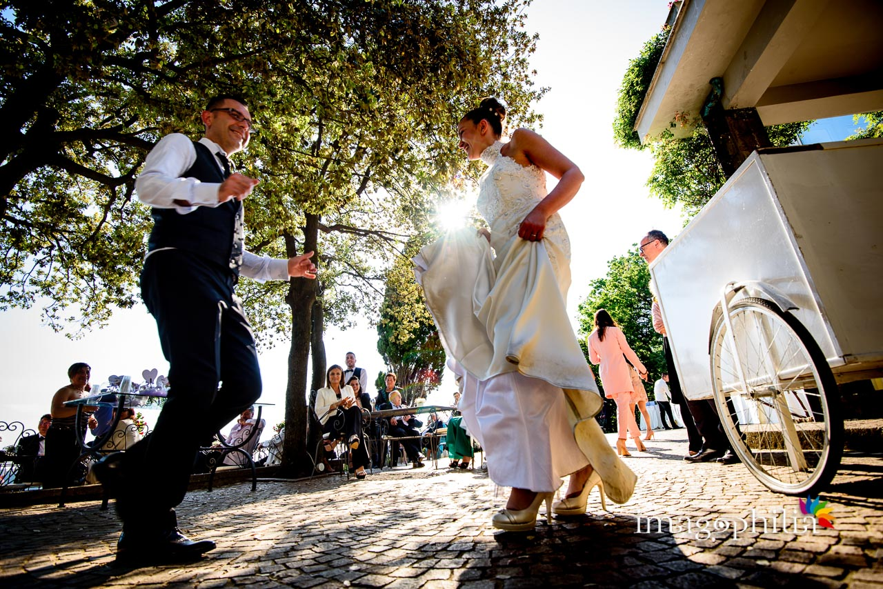 Balli scatenati durante il ricevimento di matrimonio a Villa Pocci (Marino) / 3