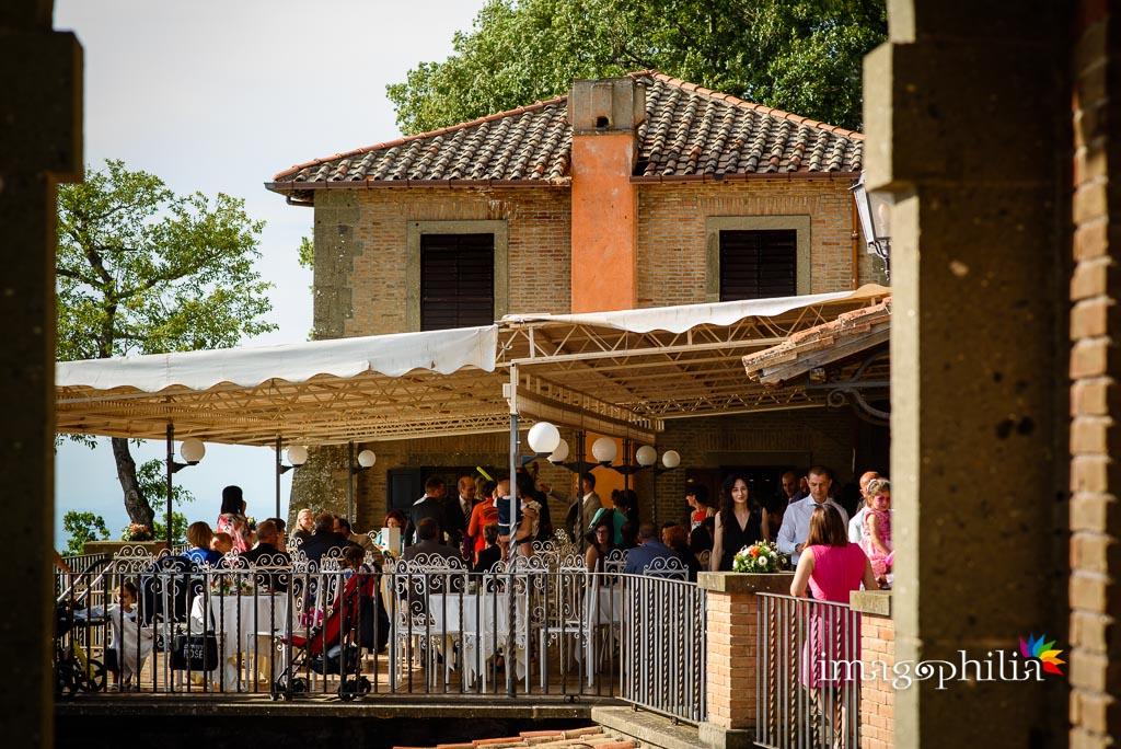 Matrimonio a Punta San Michele, Rocca di Papa